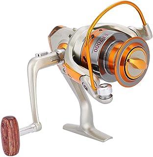 comprar comparacion Tbest Carrete de Pesca, Rueda de Pesca Spinning Fishing Reel 12BB Carrete de Pesca Giratoria de Agua Salada Oceano Mar Bot...