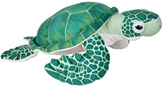 Wild Republic Sea Turtle Plush, Stuffed Animal, Plush Toy, Gifts for Kids, Living Ocean 23 Inches