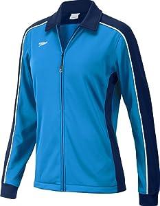 Speedo Streamline Warm Up Jacket, Navy/Blue, X-Large