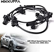 MIKKUPPA 2pcs ABS Wheel Speed Sensor, Front Side 57450-SNA-003, 57455-SNA-003 Compatible with 2006-2011 Honda Civic