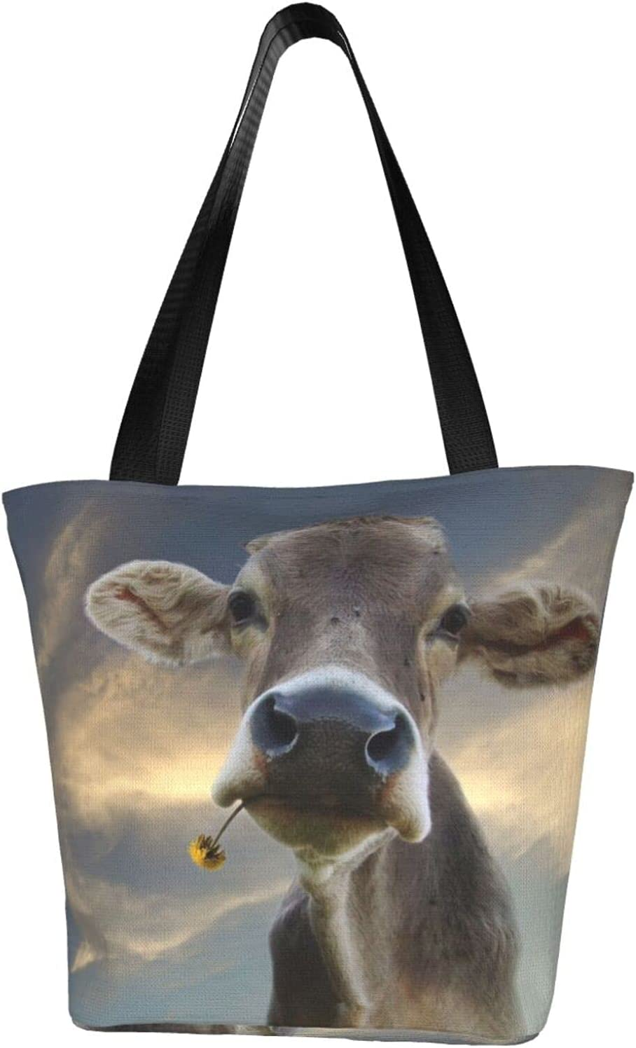 famous pengyong Cute Animal Funny Cow Water Resistant Extra Canva Large National products