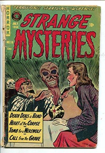 STRANGE MYSTERIES #18-1954-SEANCE COVER-PRE-CODE...