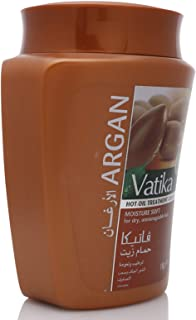 Vatika Argan Naturals Hot Oil Treatment - 1 kg