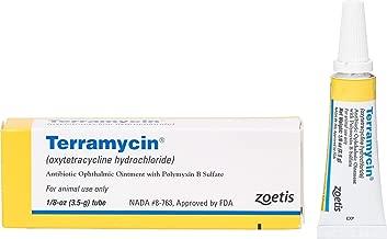 Zoetis Animal Health Terramycin Antibiotic Ophthalmic Ointment 1/8 oz