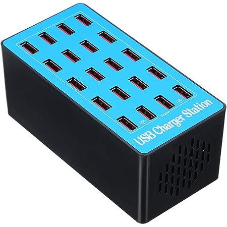 Docooler 20 Ports Usb Ladegerät Mit Adapter Für Die Elektronik