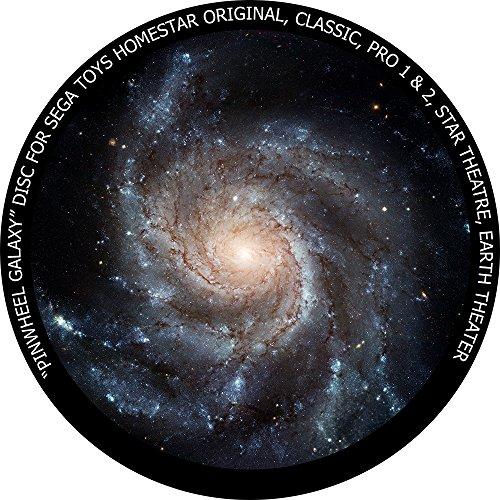 Pinwheel Galaxy disc for Segatoys Homestar Pro 2, Classic, Original, Earth Theater Home Planetarium
