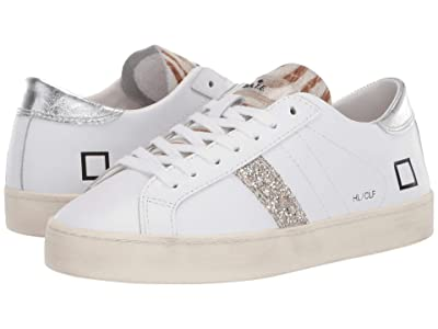 D.A.T.E. Hill Low (White/Silver) Women