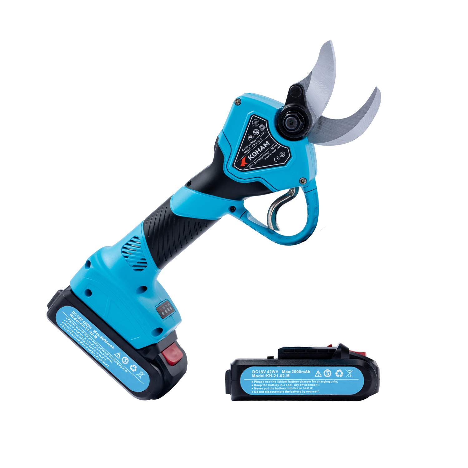 KOHAM Professional Cordless Electric Rechargeable