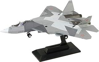 ピットロード 1/144 SNシリーズ ロシア空軍 戦闘機 Su-57 プラモデル SN21