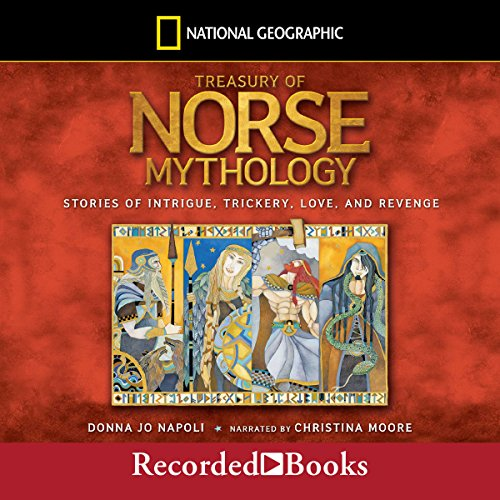 Treasury of Norse Mythology audiobook cover art