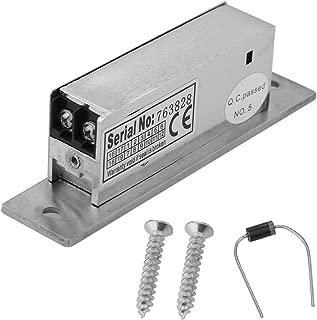 12V Adjustable Narrow-Type Electric Strike Door Lock Double Unlock Mode Access Control Lock Intelligent Cathode Lock Safety Intelligent Lock NO Fail Security