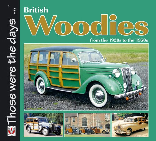 British Woodies from the 1920s to the 1950s (English Edition)
