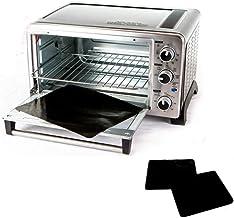 Paquete de 2 unidades 100% antiadherente de 28 cm para horno tostador. Por último, evita que se desprendan, se rompan y lo...