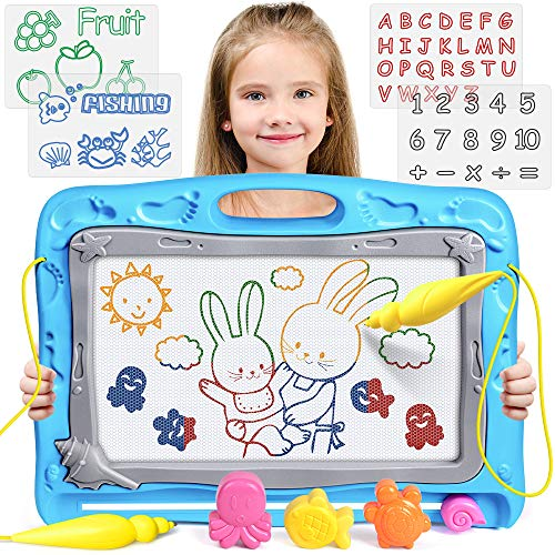 UMIKU Magnetic Drawing Board Kids Large Magna Doodle Board Toddler Toys Gifts for 3 4 5 Year Old Girl Boy Toys Erasable Sketching Drawing Pad Early Educational Toys for 3 4 5 6 Year Old Girl Boy