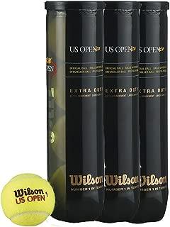 WILSON US OPEN TENNIS BALLS - 36 TUBES (144 BALLS) by Wilson