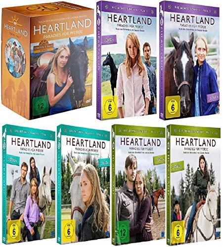 Heartland - Paradies für Pferde Staffel 1-10 (1+2+3+4+5+6+7 Box + 8.1+8.2+9.1+9.2+10.1+10.2, 1 bis 10) [DVD Set]