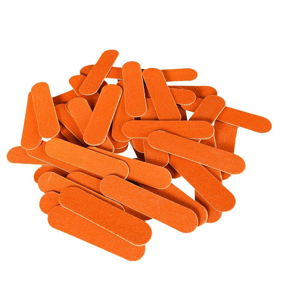 自発的コンパス発疹磨かれた釘の心配のマニキュア用具をトリミングするための50の釘ファイルそして緩衝ブロック