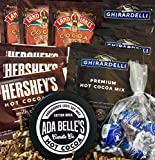 Hot Chocolate Gift Sets, Cocoa gift Basket for Women, Men, Mom, Dad, Aunt, Sister, CoWorker Gift Box for Happy Birtday, Get Well, Thinking of you