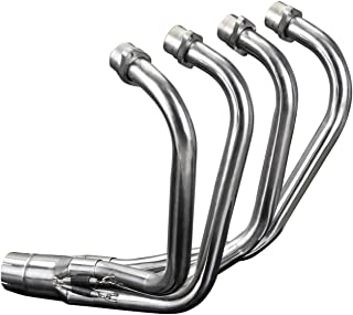 Delkevic Aftermarket Stainless Steel 4-1 Headers compatible with Honda CB750K 750 FOUR K(1979-1982)