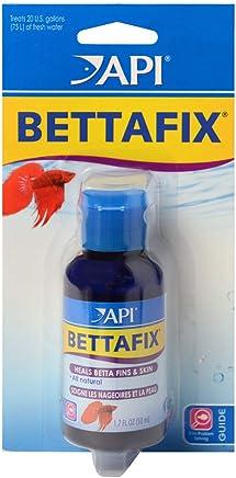 API bettafix Antibacteriano y antifúngico Betta Peces Infección y Hongos Remedy 1.7-Ounce Botella