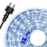Nipach Guirlande lumineuse Tube LED à faible consommation d'énergie Pour Noël 10m