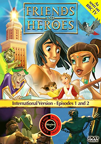 Friends and Heroes Multi-Language Episodes 1 & 2 - Includes Bible Stories Daniel and the Lions' Den and Samson and Delilah