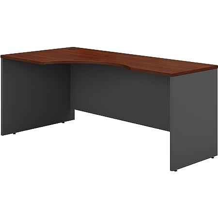 Bush Business Furniture Series C 72w Left Handed Corner Desk In Hansen Cherry Furniture Decor
