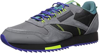 Men's Classic Leather Sneaker, Grey/Mineral Mist, 7 M US