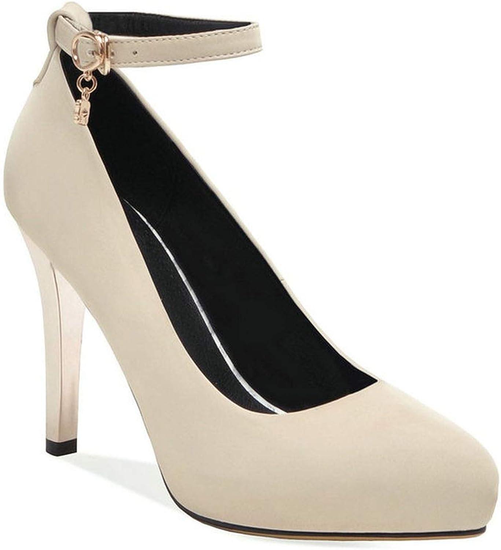 Mamamoo 2019 Women shoes Platform Buckle Women Pumps Wedding shoes Thin High Heel Sexy shoes