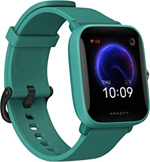 "Amazfit Bip U Smart Watch, 1.43"" HD Color Display, SpO2 & Stress Monitor, 60+ Sports Modes, Breathing Training, 50+ Watch ..."