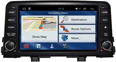 WUS KIA Picanto in Dashboard Video Player,8 Inch Touch Screen Multimedia Player,Multifunction GPS Navigation,Android System,WiFi,Bluetooth
