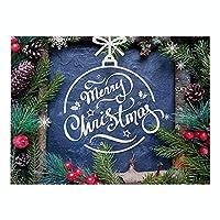 ランチョンマット 綿 麻 4枚セット 北欧 クリスマスシリーズ プレースマット グリーンプリント木製の窓 ランチマット 華やか卓上飾り 高温耐性滑り止め防しわ 西洋料理マット コーヒーマット家庭 レストラン 用 贈り,32X42cm