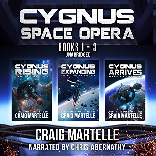 Cygnus Space Opera: Books 1 to 3 audiobook cover art