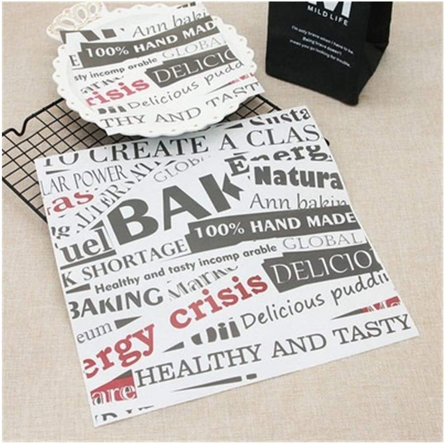 LCHB Food Grease Paper Bread Pa Wrapping Sale item Direct stock discount Sandwich