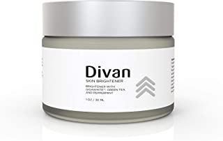 Divan Beauty Age Defying Skin Brightener. A skin brightening cream with green tea and Gigawhite. Remove dark spots and lighten your skin. Fix uneven skin tones for younger looking skin and complexion