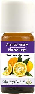 Maitreya Natura Ätherisches Öl biologisch BITTERORANGE, 100% naturrein, 10ml - Aromatherapie, Diffusor, Massage, Kosmetik - kontrollierte und zertifizierte Qualität, cruelty free, vegan