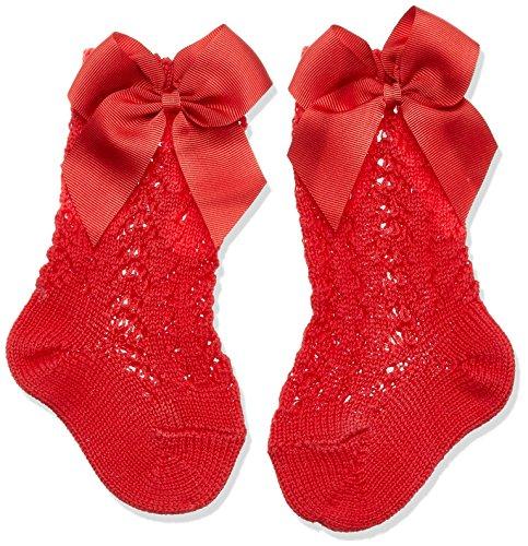 Condor 2519/2 Calcetines, Rojo (Rojo 550), 16 (Tamaño del fabricante:0) para Bebés
