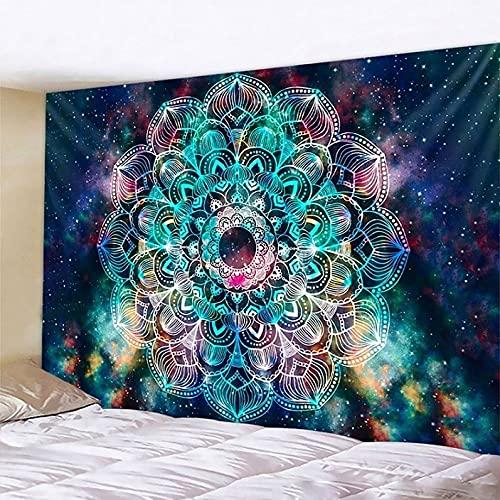 PPOU Escena psicodélica Tapiz de Arte para el hogar Tapiz de brujería Hippie...