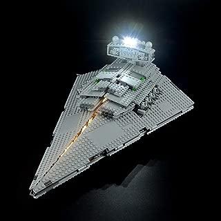 LIGHTAILING Light Set for (Star Wars Imperial Star Destroyer) Building Blocks Model - Led Light kit Compatible with Lego 75055(NOT Included The Model)