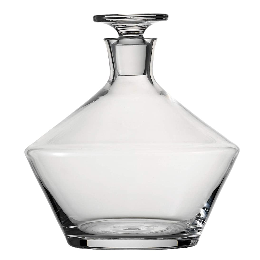 満了意志に反するあさり(Whiskey) - Schott Zwiesel Tritan Crystal Glass Pure Collection Whiskey Decanter With Stopper