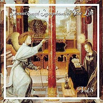 Sensational Symphonies For Life, Vol. 8 - Bach: Flute Concertos