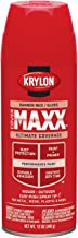 Krylon K09104000 COVERMAXX Spray Paint, Gloss Banner Red, 12 Ounce