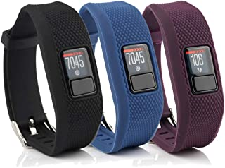 honecumi Watchbands Compatible with Garmin Vivofit 3 / JR/JR.2 Bands Replacement Accessory-Garmin Vivofit 3 Silicone Wrist...