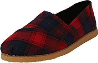 TOMS Women's Alpargata Crepe Ankle-High Fabric Slip-On Shoes