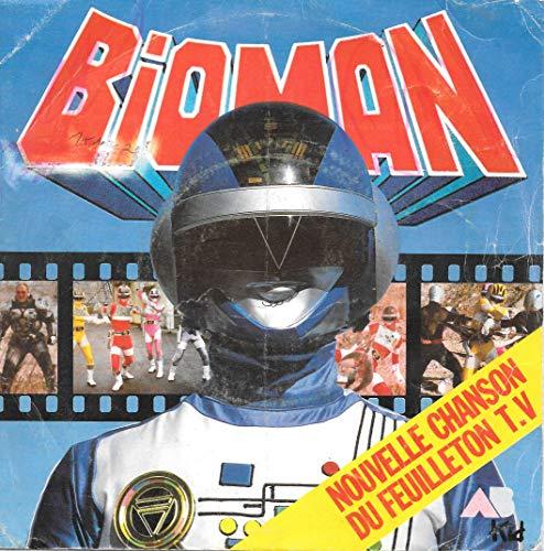 Bioman (Chanson Générique TV) / A L'assaut / La Chanson Des Héros / Pibolo [Vinyle 45 tours 7' EP]