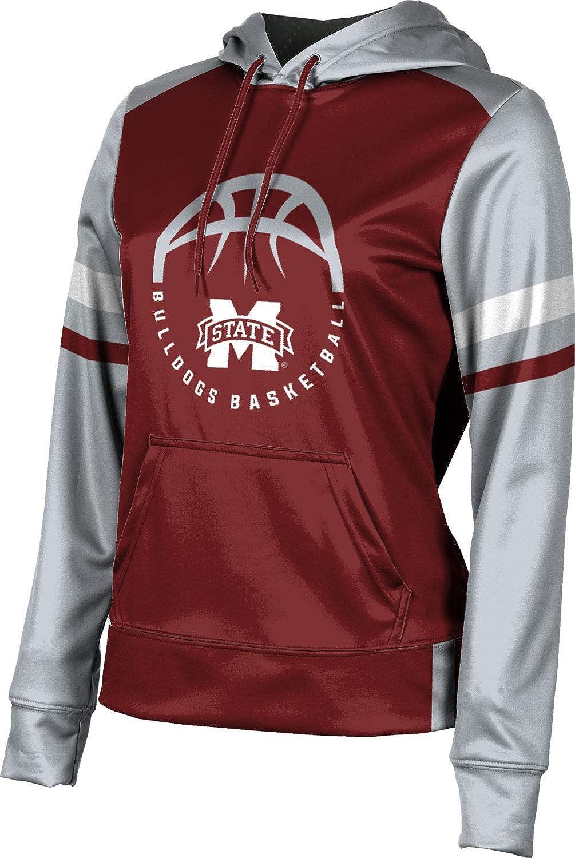 ProSphere Mississippi State University Basketball Girls' Pullover Hoodie, School Spirit Sweatshirt (Old School)