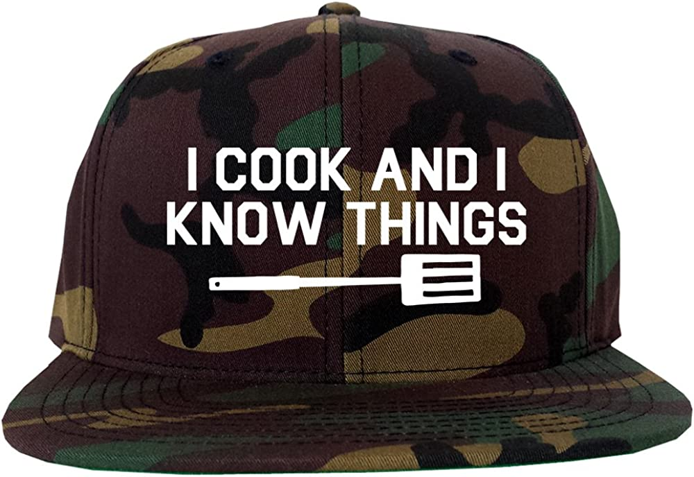 I Ranking TOP14 Cook and Super special price Know Things Mens Snapback Hat Chef