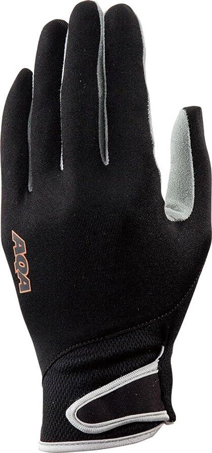 ターゲット誰が下向きAQA(エーキューエー) マリンスポーツ 手袋 UVライトグローブ KW-4470A