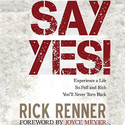 Say Yes! audiobook cover art