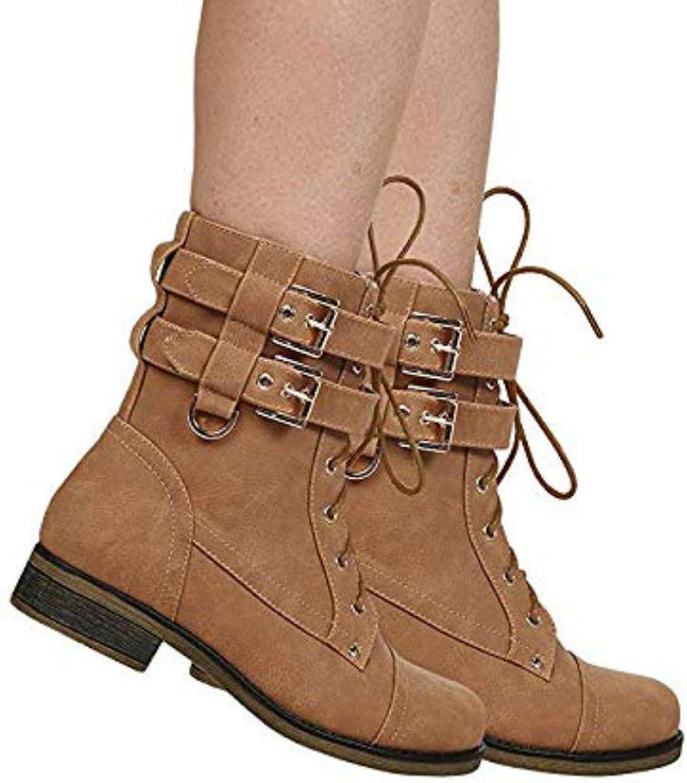 Bottes Bottes Bottes de combat et bottes de cheville d 'hiver.  presentera alla senaste high street mode
